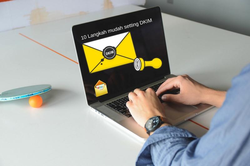 10 Langkah mudah setting DKIM Zoho Mail